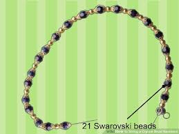 crystal necklace making images How to string a crystal bead necklace with pictures wikihow jpg