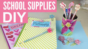 diy supplies cute and easy by michele baratta youtube