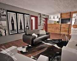 Industrial Modern House Modern Industrial Living Room Fionaandersenphotography Com