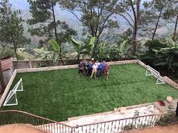 new soccer field for the creche u2014 fondation enfant jesus