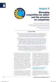 m iterran si e social managing competition for water and the pressure on ecosystems pdf