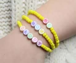 family bracelets multi strand beaded bracelet pattern a personalized family