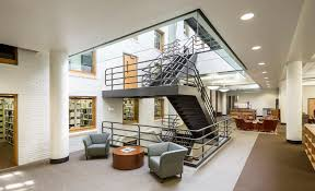 colby college miller library renovation harriman