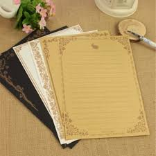 good writing paper online buy wholesale vintage writing paper from china vintage 3 sets lot 8 pieces set vintage writing paper paper letter