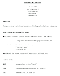 functional resume sles skills and abilities tremendous customer service functional resume tomyumtumweb com