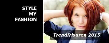 Bob Frisuren In Kupfer by Trendfrisuren 2015 Pony Locken Bob Und Co Style My Fashion