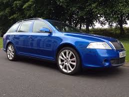 2008 skoda octavia vrs 2 0 tdi 170 bhp estate 6 speed manual