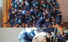 Blue Christmas Trees Decorating Ideas - 14 beach home decor creativity and innovation of home design