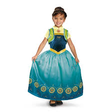 anna frozen fever deluxe costume for girls buycostumes com