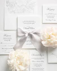 classic script letterpress wedding invitations letterpress