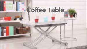 Turn Coffee Table Into Dining Table Space Saving Coffee Table Transforms Into Dining Table In Seconds
