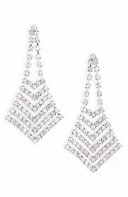 silver chandelier earrings women s chandelier earrings nordstrom