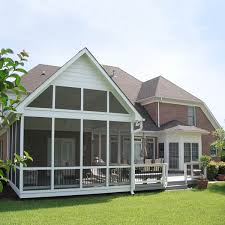 the log cabin inspired screened porch archadeck outdoor living