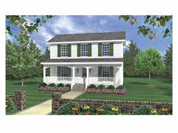 traditional 2 story house plans country house plans 3 bedroom small two story home design 001h