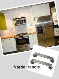 varde handles sans disks abstract doors ikea kitchen styles