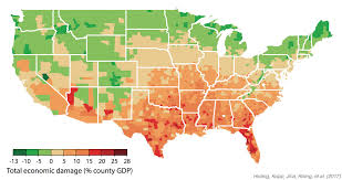 climate change in america will help the but slam the south