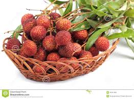 lychee fruit peeled fresh lychee fruit in basket stock photo image 40341800