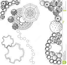 landscape architecture plan symbols akioz com