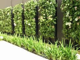 vertical garden system for internal and external walls of