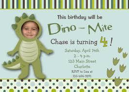 Sample Of Birthday Invitation Card For Kids Dinosaur Birthday Invitations Template For Kids Birthday Invitations