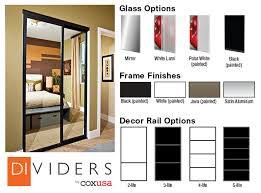 Sliding Closet Doors White Coxusa Sliding Closet Doors Doors From El And El Wood Products