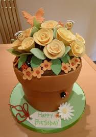 25 flower pot cake ideas cupcake flower pots