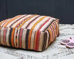 Ottoman Pillow Cushion by Vintage Square Ottoman Kilim Pouf 24 Square Pouf Ottoman