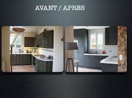 comment repeindre sa cuisine en bois charmant repeindre sa cuisine avant apres avec ranover une cuisine