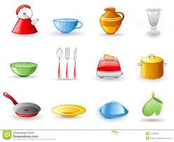 la cuisine en espagnol chambre enfant les ustensiles de cuisine de nourriture avec le