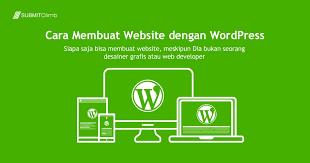 membuat website gratis menggunakan wordpress cara membuat website dengan wordpress panduan wordpress gratis