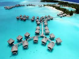 overwater bungalows as my world turns