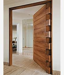 awesome front doors absolutely love the hinge work and solid timber door would make