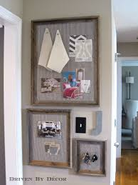 diy reclaimed wood framed bulletin boards driven by decor