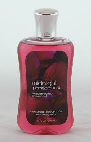 midnight pomegranate shower gel and body wash archway variety midnight pomegranate shower gel bath and body works 10oz