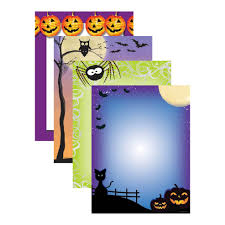 halloween paper border whimsical halloween border paper 100 sheet variety pack your