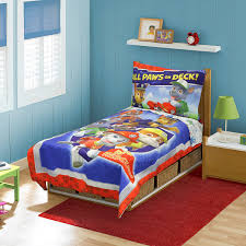 Bedroom Sets With Mattress Included Amazon Com Paw Patrol Toddler Bed Set Blue Baby