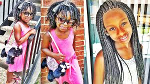 latest cute black african american kids hairstyles youtube