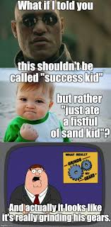 Grinding Meme - what if i told you this shouldn t be called success kid but