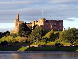 Historical Castles by A Tour Of Historical Sites In Inverness Scotland