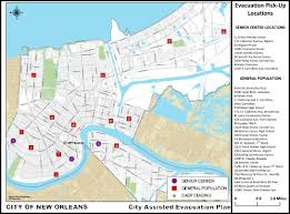 New Orleans Parish Map by Performance Of Traffic Networks During Multimodal Evacuations