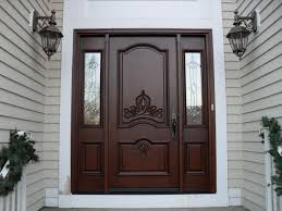House Exterior Doors Furniture Luxury Contemporary Wood Exterior Doors Design With