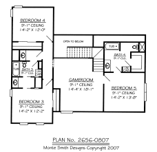 Home Plans 5 Bedroom Plan No 2656 0807