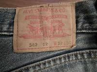 Levis 582 Comfort Fit Jeans Levi U0027s 582 Jeans Comfort Fit Straight Leg W32 L30 Strauss Blue