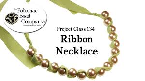 ribbon necklace making images Make a ribbon and bead necklace jpg