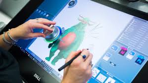 design tablet dell takes on the surface studio with a ginormous drawing tablet