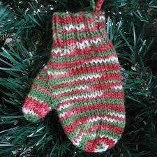 kalamazoo knits mitten ornament knitting pattern