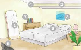 bed placement in bedroom feng shui rules four poster natural light