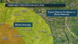 Texas Weather Map What To Expect In North Texas February Nbc 5 Dallas Fort Worth