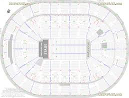 scottrade center detailed seat u0026 row numbers end stage concert