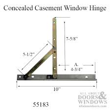 Awning Window Hinge Window Hinge 10 Inch Track Discontinued Replace With 55175